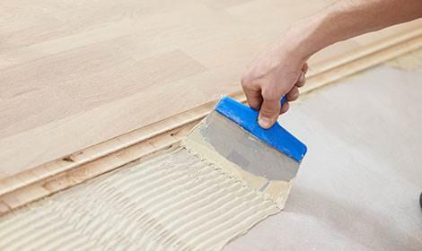 aanbrengen houten vloer